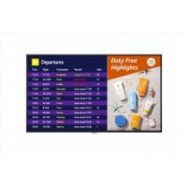 """LG 65UH7F-B visualizzatore di messaggi 165,1 cm (65"""") LCD 4K Ultra HD Pannello piatto per segnaletica digitale Nero"""