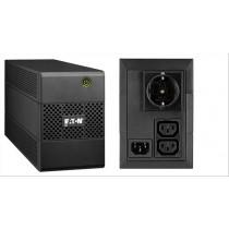 Eaton 5E 650I DIN A linea interattiva 650VA 3presa(e) AC Torre Nero gruppo di continuità (UPS)
