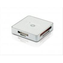 Conceptronic CMULTIRWU3 USB 3.0 Argento, Bianco lettore di schede