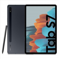 "Samsung Galaxy Tab S7 Tablet S Pen, Snapdragon 865 Plus, Display 11.0"" WQXGA LTPS, 128GB Espandibili fino a 1TB, RAM 6GB, Batteria 8.000 mAh, WiFi, Android 10, Mystic Black"