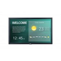 """LG 22SM3G-B visualizzatore di messaggi Pannello piatto per segnaletica digitale 54,6 cm (21.5"""") IPS Full HD Nero Processore integrato"""
