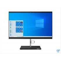 """Lenovo V50a 54,6 cm (21.5"""") 1920 x 1080 Pixel Intel® Core™ i3 di decima generazione 8 GB DDR4-SDRAM 256 GB SSD Windows 10 Pro Wi-Fi 5 (802.11ac) PC All-in-one Nero, Argento"""