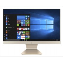 """ASUS Vivo AiO V222FAK-BA002R 54,6 cm (21.5"""") 1920 x 1080 Pixel Intel® Core™ i5 di decima generazione 8 GB DDR4-SDRAM 256 GB SSD Wi-Fi 5 (802.11ac) Nero, Oro PC All-in-one Windows 10 Pro"""