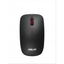 ASUS WT300 RF Wireless Ottico 1600DPI Ambidestro Nero, Rosso mouse