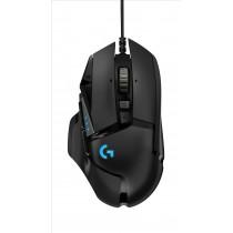 Logitech G502 Hero mouse Mano destra USB tipo A Ottico 16000 DPI