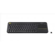 Logitech K400 Plus RF Wireless QWERTY Italiano Nero tastiera