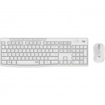 Logitech MK295 Silent Wireless Combo tastiera RF Wireless QWERTY Italiano Bianco